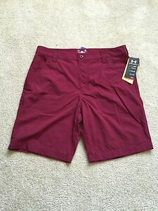 GEA- $59.99 NEW UNDER ARMOUR CHESAPEAKE MENS SHORTS Size 34 36