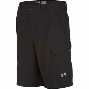 Under Armour Fish Hunter Cargo Shorts 1244207-005 Black