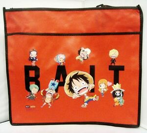 $30 Anime One Piece Ruffy Tony Chopper x BAIT SD Group Tote Bag (Red)