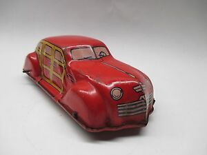 j wind up woody automobile car works