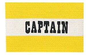 New Champion Jr Youth Soccer Captains Arm Band Fits Most Ages 12 amp; Under YELLOW $5.99