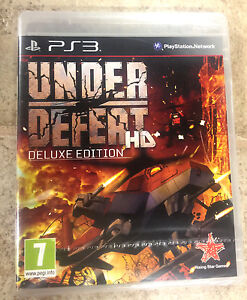 FACTORY SEALED BRAND NEW Under Defeat HD - Deluxe Edition PAL PS3  *US SELLER*