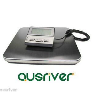 200kg 100g LCD Backlit Display Digital Warehouse Shipping Scale Post Scale Black AU $119.99
