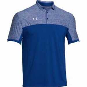 Under Armour Men's Team Podium Golf Polo Shirt Top Assorted Colors 1276227
