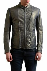 Gianfranco Ferre Men's Leather Jacket With Detouchable Sleeves Size XS S 3X 4XL