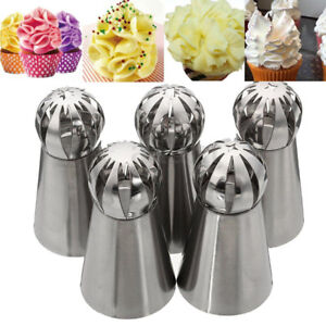 Sphere Ball Tip Nozzles Icing Piping Russian Nozzle Cake Buttercream Baking US $1.82