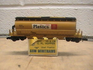 n scale ahm shell plastics scpx covered