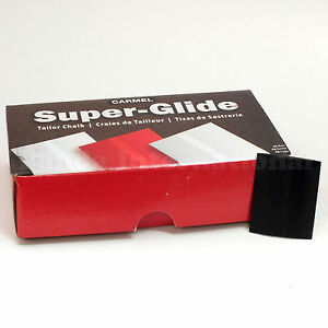 Carmel Super Glide Tailors#x27; Chalk Black Color 48 pcs Fast Shipping from US $12.00