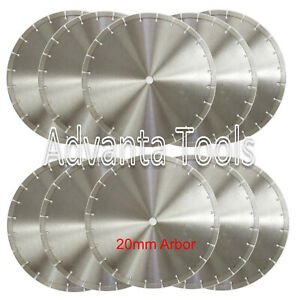 10PK 14 Diamond Blade for Brick Block Concrete Masonry Pavers Stone 20MM Arbor