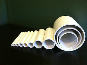 Any Size Diameter PVC Pipe Sch. 40 or 80 1 4quot; 24quot; Inch