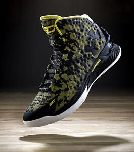 Under Armour UA Charged Foam Curry 1 One Steph AWAY MVP Black Taxi 1258723-001