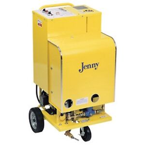 Steam Jenny Electric 600 PSI at 1.6 GPM Pressure Washer  Steam Cleaner E-300-C