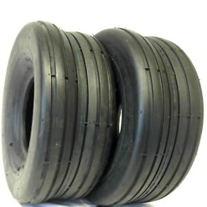 2 Two 13x6.50 6 D837 Rib Tubeless Tires 13 650 6 SMOOTH RIB $42.95