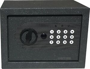 NEW DIGITAL ELECTRONIC SAFE SECURITY BOX WALL JEWELRY GUN CASH BLACK $37.99