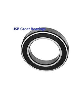 (Qty.1) 6807-2RS two side rubber seals bearing 6807-rs ball bearings 6807 rs