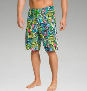 UNDER ARMOUR BOARDSHORTS SURF SHORTS.. WATER REPEL AND UPF 30.. FAST SHIPPING!!