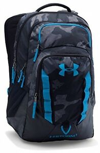New Under Armour Storm Recruit Backpack Black (003) One Size