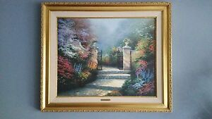 The Victorian Garden G P by Thomas Kinkade 67 of 200 $3900.00