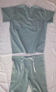 Best Medical Unisex Reversible Scrub Set Top amp; Pants Misty Green Size Small