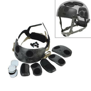 Emerson Tactical Helmet Dial Liner Kit for OPS-CORE FAST MICH Helmet Airsoft DE