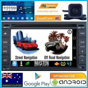 (Universal Double DIN 2DIN GPS Bluetooth Car Player Navi Radio Stereo DVD + Cam