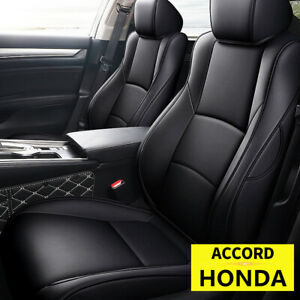 Car Seat Cover 5 Seats Full Set Front Back Covers For 2018 2022 Honda Accord $199.17