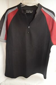 """Official The Hunger Games ¼-Zip """"Section 12"""" Katniss Training Shirt Costume XXL"""
