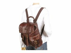 Bed Stu Free People Womens Shiloh Backpack NWT Brown Leather $306