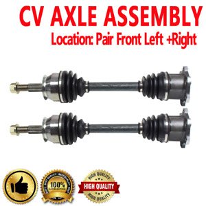 Front Pair CV Axle Assembly For QX56 04-12