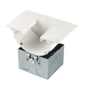 WAC InvisiLED Power Feed for Deep Recessed Downlight Channel LED T RBOX3 WT