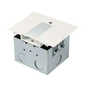 WAC InvisiLED Power Feed for Symmetrical Recessed Channel LED T RBOX1 WT