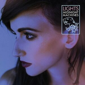 The Lights Midnight Machines New Vinyl LP Clear Vinyl, Canada Im