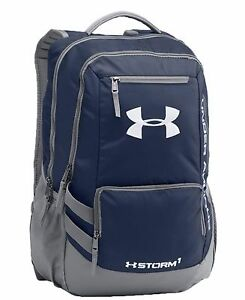 Under Armour Hustle II Backpack NWT Navy