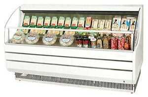 "Turbo Air TOM75S 75"" Open Display Merchandiser with Modern Design Environme"
