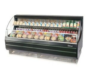 "Turbo Air TOM75LB 75"" Low Profile Display Merchandiser with Modern Design A"