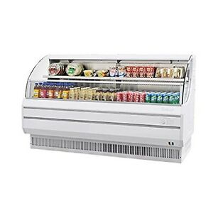 "Turbo Air TOM75L 75"" Low Profile Display Merchandiser with Modern Design At"