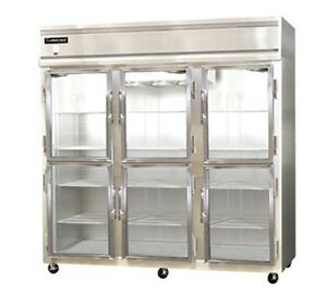 Continental Designer Line Refrigerator Two-Section 3R-GD-HD