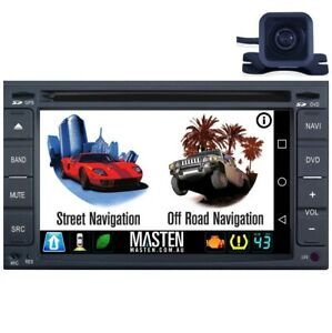 .Universal Double DIN 2DIN GPS Bluetooth Car Player Navi Radio Stereo DVD + Cam