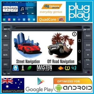 .GPS For Universal Double 2DIN Bluetooth Car Player Navigation Radio Stereo DVD