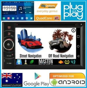 -For GPS Double DIN 2DIN Bluetooth Car Player Navi Radio Stereo DVD Android