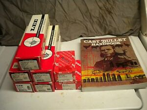 Lee Lead Bullet casting mold Lot of 5 .452 .358 .309 .430 With extras........