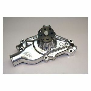 PRW Chevy SBC V8 1955-1995 High Performance Short Aluminum Water Pump - Polished