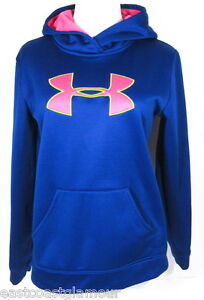 Women S Girls XL UNDER ARMOUR Athletic Sweater Slim Sweatshirt Fleece Hoodie