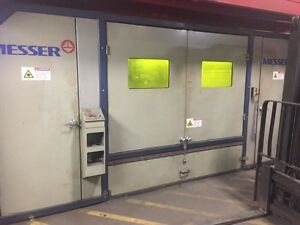2011 Messer MG MetalMaster Plus 2.6KW Fiber LaserPlasma Cutting System (#1778)