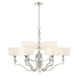 Designers Fountain Evi 9 Light Chandelier Chrome - 89989-CH