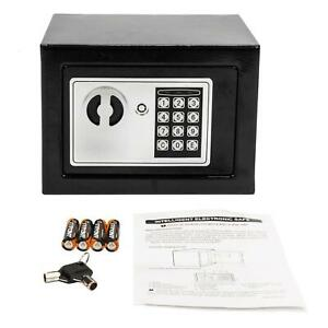 Electronic Digital Safe Box Keypad Lock Security Home Office Cash Jewelry Gun $21.59