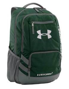 Under Armour Team Hustle Backpack Bag - Green - FREE SHIP - NEW - 1272782-301