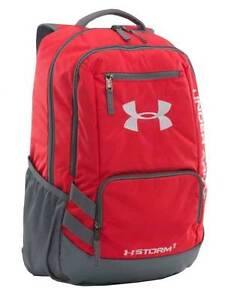 Under Armour Team Hustle Backpack - Red - FREE SHIPPING - NEW - 1272782-600