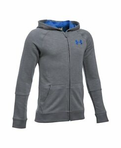 Under Armour Boys Sportstyle Iso Full Zip Basketball Hoodie 1289999-040