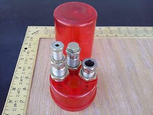 3 Dillon Precision Products Inc. Progressive Reloading Dies for 41 Magnum wcase